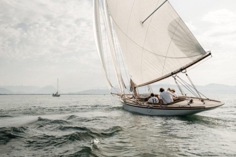 Segelboot Bayern II Bodensee